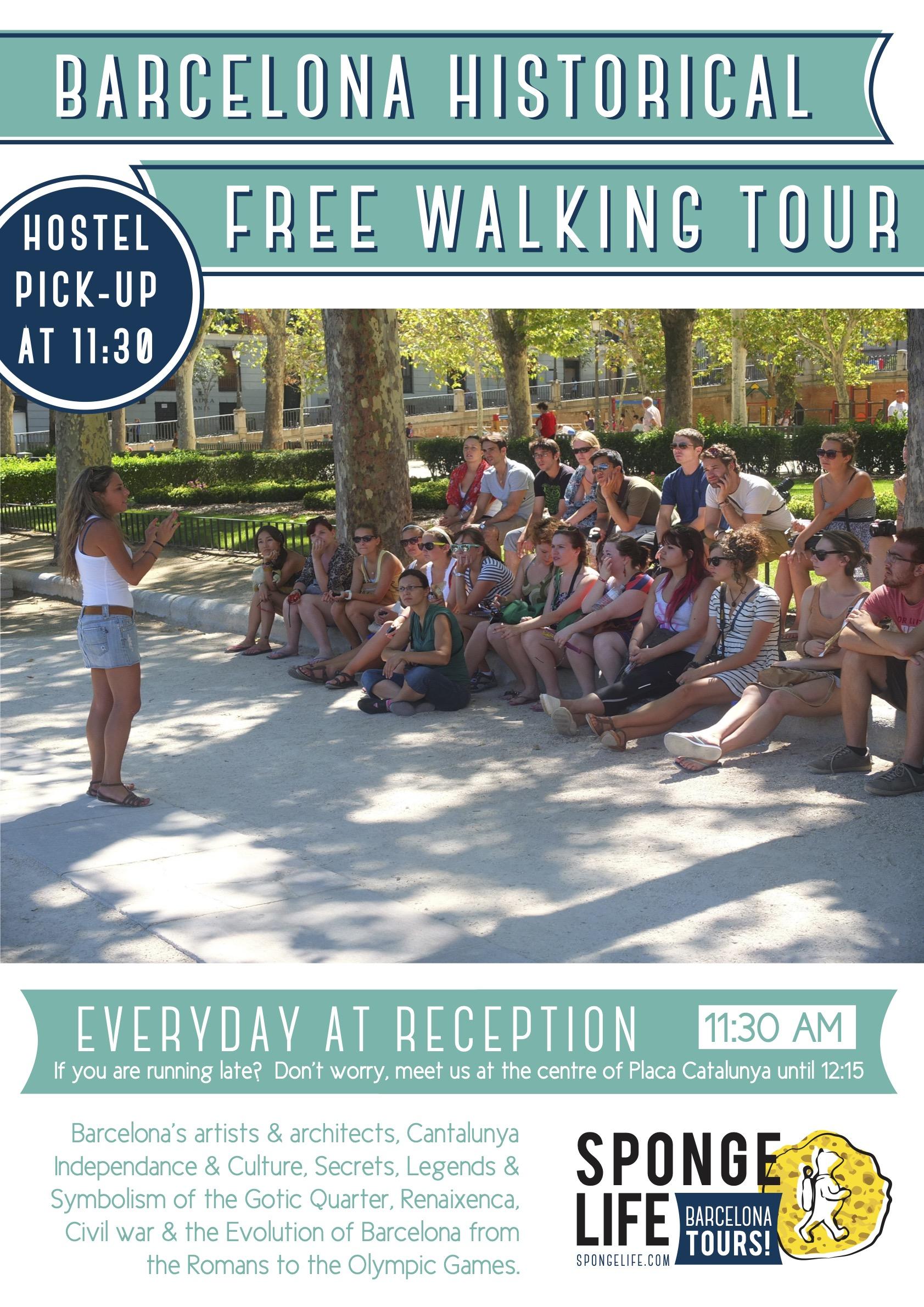 Walking Tour Poster (11.30 pick-up)